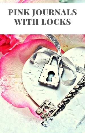 Pink Journals with Locks